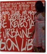 Urban Paris Canvas Print