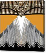 Urban Pyramid Canvas Print