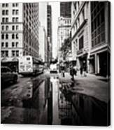 Urban Reflections Canvas Print