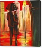 Urban Romance Canvas Print