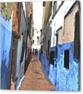 Urban Scene  Canvas Print