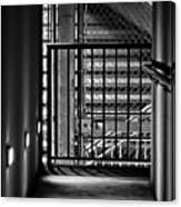 Urban Stairway Canvas Print