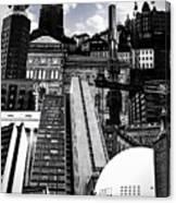 Urban Stockholm Canvas Print