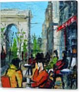 Urban Story - Champs Elysees Canvas Print