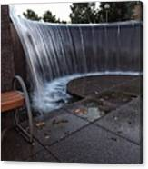 Urban Waterfall  Canvas Print