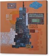 Urbanization Xiv Canvas Print