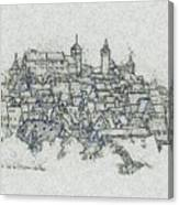 uremberg Sketching Canvas Print