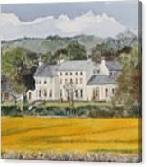 Urpeth Hall Co Durham Canvas Print
