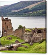 Urquhart Castle I Canvas Print