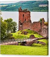 Urquhart  Castle Scotland Canvas Print