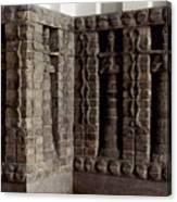 Uruk: Innin Temple Facade Canvas Print