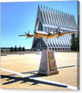 Us Air Force Academy Chapel Canvas Print
