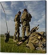 U.s. Air Force Combat Controllers Canvas Print