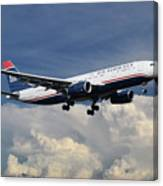 Us Airways A330-200 N280ay Canvas Print