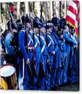 U.s. Army 1845 Canvas Print