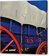 U S Army Supply Wagon Canvas Print