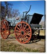 Us Buckboard Wagon Canvas Print
