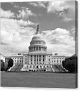 Us Capitol Building Washington Dc Canvas Print