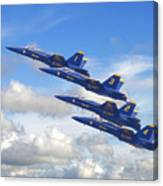 Us Navy - Blue Angels Canvas Print