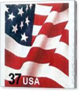 U.s. Postage Stamp, 2003 Canvas Print