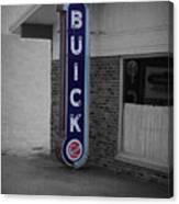 Us Route 66 Smaterjax Dwight Il Buick Signage Sc Canvas Print