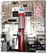 Us Route 66 Smaterjax Dwight Il Gas Pump 01 Pa 01 Canvas Print