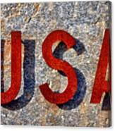 USA Canvas Print