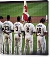 Usa-world Baseball Classic Canvas Print