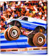 Usaf Afterburner Monster Jam Canvas Print
