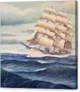 Uscg Danmark Canvas Print