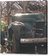 Used Up Truck Canvas Print