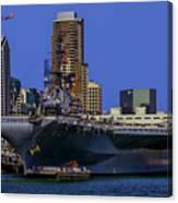 Uss Midway San Diego Ca Canvas Print