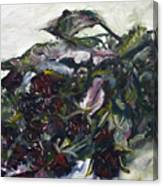 Ususena Ruze - Po Trech Kouscich A - Detail Canvas Print