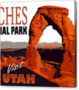 Utah, Arches, National Park Canvas Print