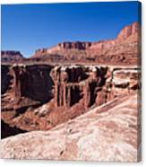 Utah-canyonlands National Park Canvas Print