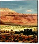 Utah Plateau Mtn M 302 Canvas Print