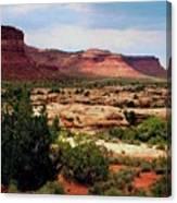 Utah Plateau Mtn M 303 Canvas Print