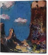 Utah Raw Canvas Print