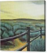 Utah Sunset Canvas Print