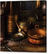 Utensils - Colonial Utensils Canvas Print