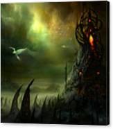 Utherworlds Where Fears Roam Canvas Print