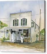 Utica Store Canvas Print