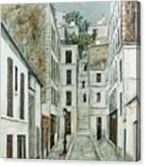 Utrillo: Limpasse, 1911 Canvas Print