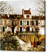 Utrillo: Montmagny, 1908-9 Canvas Print