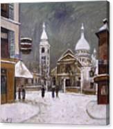 Utrillo: Montmartre, 1931 Canvas Print