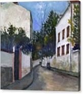 Utrillo: Sannois, 1912 Canvas Print
