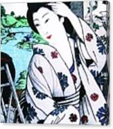 Utsukushii Josei Canvas Print