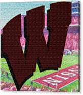 Uw Game Day Poster - Oil Canvas Print