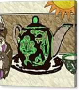 Uzbek Food Canvas Print
