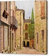 Uzes, South Of France Canvas Print